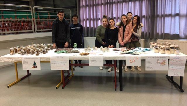 Des élèves impliqués et fiers de leur projet ! Bravo !